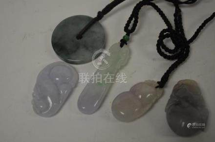 Four Chinese Pendants
