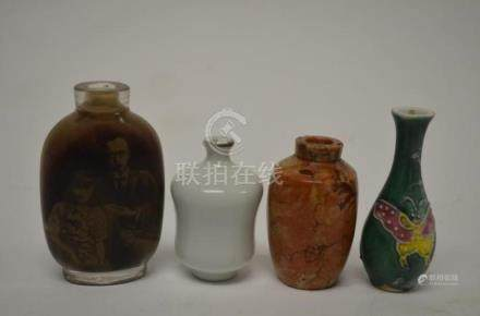 Four Various Chinese Items