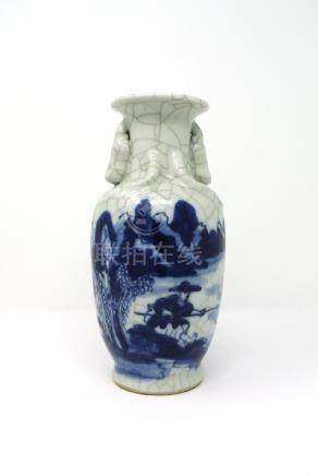 Chinese Old Crackle Vase