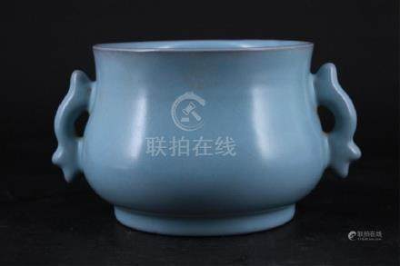 Chinese Song Porcelain RuYao Brush Pot