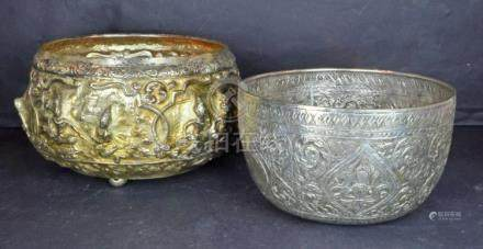 Two Asian Decorated Bowls