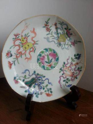 19th  porcelain Dish