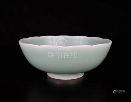 Chinese porcelain lotus bowl
