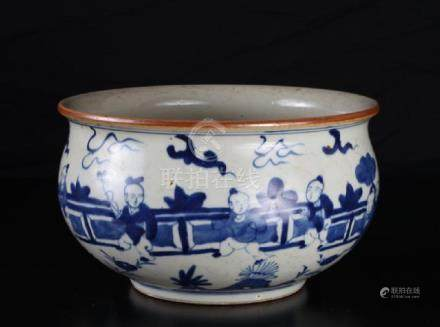 Chinese blue and white porcelan bowl