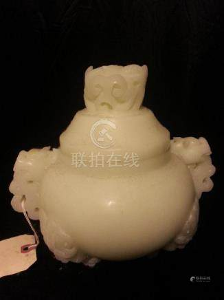 Chinese Carved  Boulder