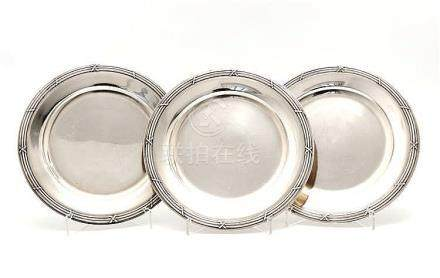 THREE CHARGER PLATES
