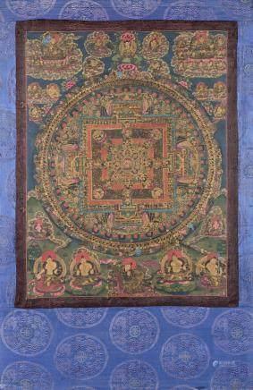 西藏 十九/二十世紀 唐卡