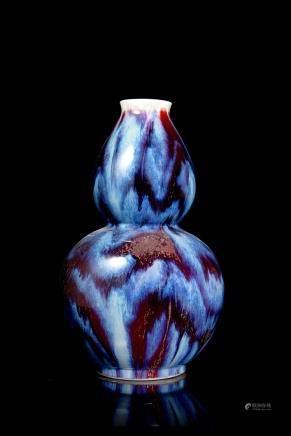中國 二十世紀 窯變葫蘆瓶