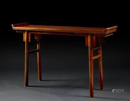 中國 十九世紀 紅木祭壇桌