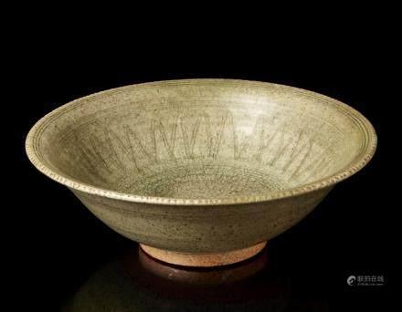 中國 二十世紀 青釉碗