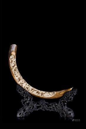 中國 二十世紀初 象牙雕十八羅漢