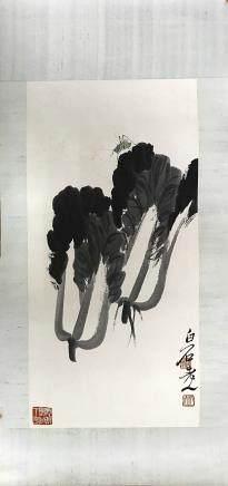 QIBAISHI GRASSHOPPER PAINTING