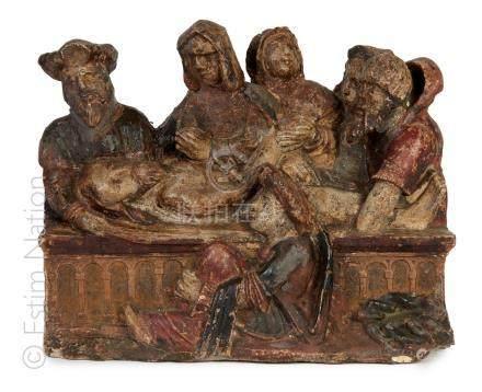GROUPE SCULPTÉ - VERS 1600-1650