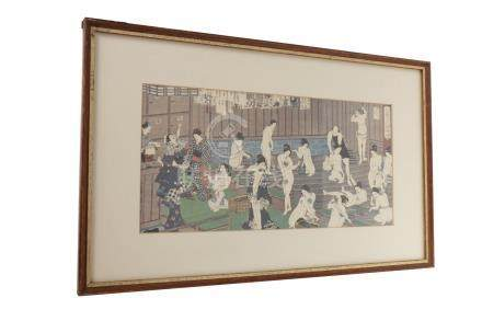 TWO MID 20TH CENTURY JAPANESE PRINTS