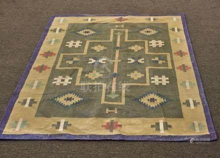 Indian Wool Kilim Rug