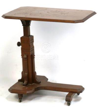 AMERICAN VICTORIAN WALNUT EASTLAKE WRITING TABLE