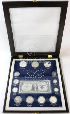 PRESENTATION CASED US SILVER COIN COLLECTION