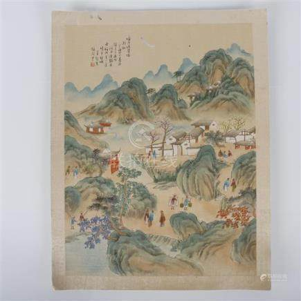 Yicang Wang, (Chinese, Late Qing/ Early republic period) lan