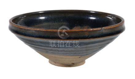 A large 'Cizhou' russet-splashed bowl