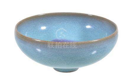 A Chinese 'Jun' type small bowl