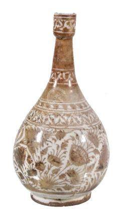 A Safavid copper lustre vase