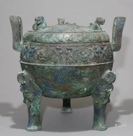 A Bronze Censer