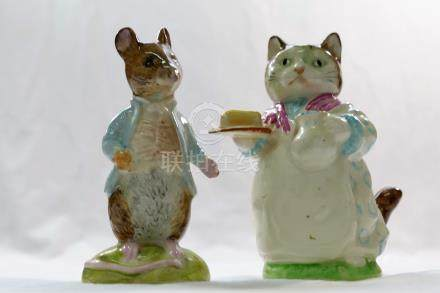 Two Beswick Beatrix Potter figures,