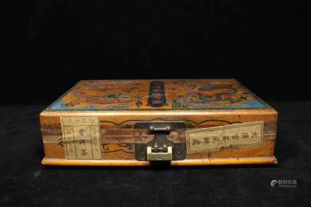 A TEA LACQUER BOX