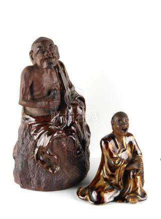 A private collection of Oriental ceramics & works of art, mostly formed in the 1980's - two