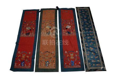 GROUP OF ASSORTED CHINESE TEXTLES, EARLY 20TH CENTURY