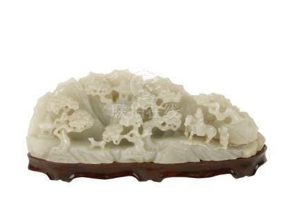 SMALL WHITE JADE MOUNTAIN