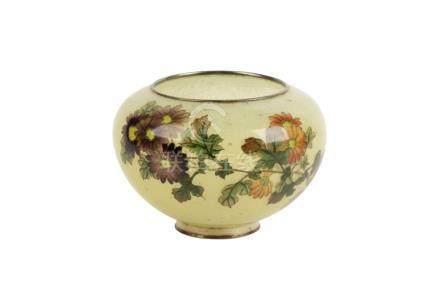 FINE PLIQUE-A-JOUR BOWL, MEIJI PERIOD (1868-1912)