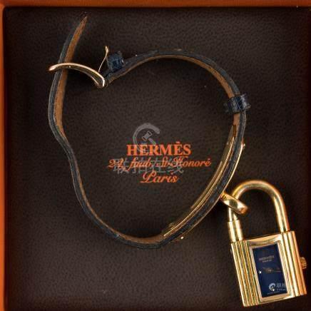 Bracelet montre Kelly de la maison Hermès