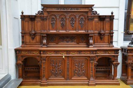 51bidlive collection of an industrialist 39 asian and - Console table a manger ...