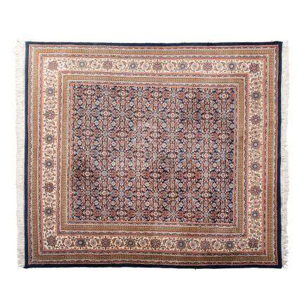 A HERATI CARPET, INDIA, MODERN condition : good, minor wear 290 by 250cm