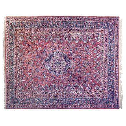 A KESHAN CARPET, MODERN condition : good, minor wear 425 by 320cm