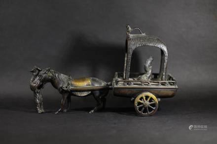 戰國 馬拉車