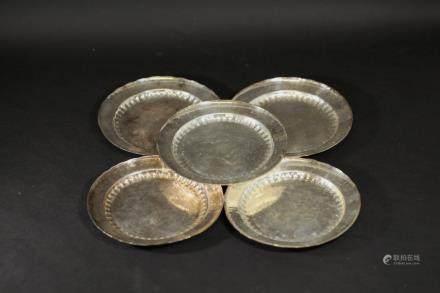 銀盤子(一套5件)