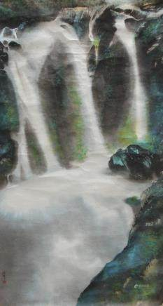 林浩宗 瀑布