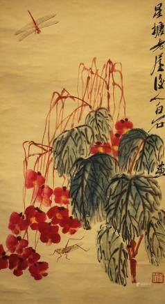 齊白石:花鳥