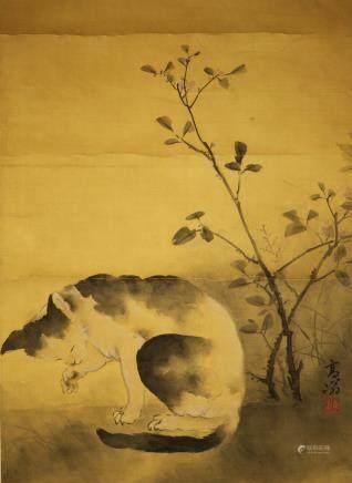 高奇峰:貓