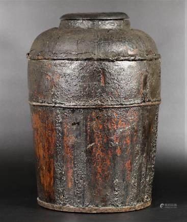 清晚期 天黍桶(榆木)