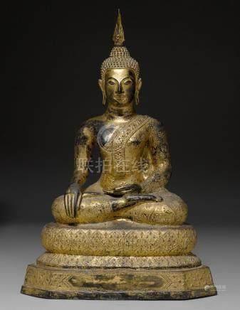 SITZENDER BUDDHA.