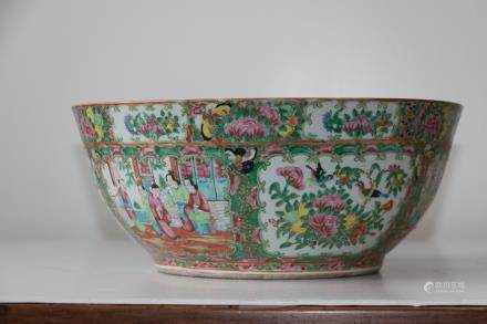 A chinese guang color porcelian bowl