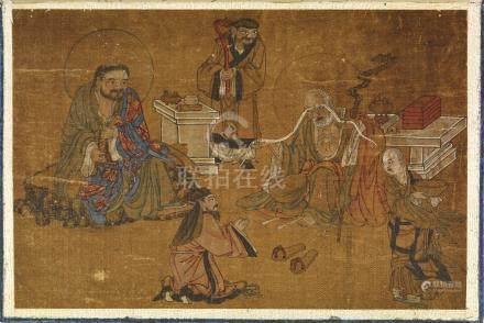 SIGNATURE DE CUI ZIZHONG (CHINE, DYNASTIE QING, 1644-1911)