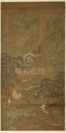 SIGNATURE DE QIU YING (XVIEME SIECLE)