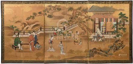 Ecole de Kano, Japon, fin XVIII ème