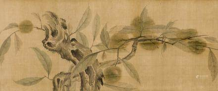 QIAN XUAN (ATTRIBUTED TO, 1235-1305), CHESTNUT