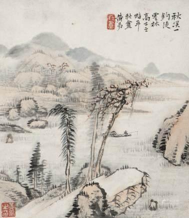 HUANG YI (1744-1802), LANDSCAPE