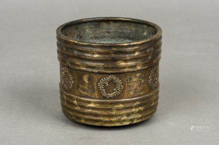 A GILT-BRONZE CENSER, 20TH CENTURY